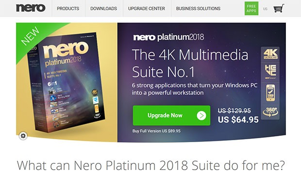 Nero com review 2018